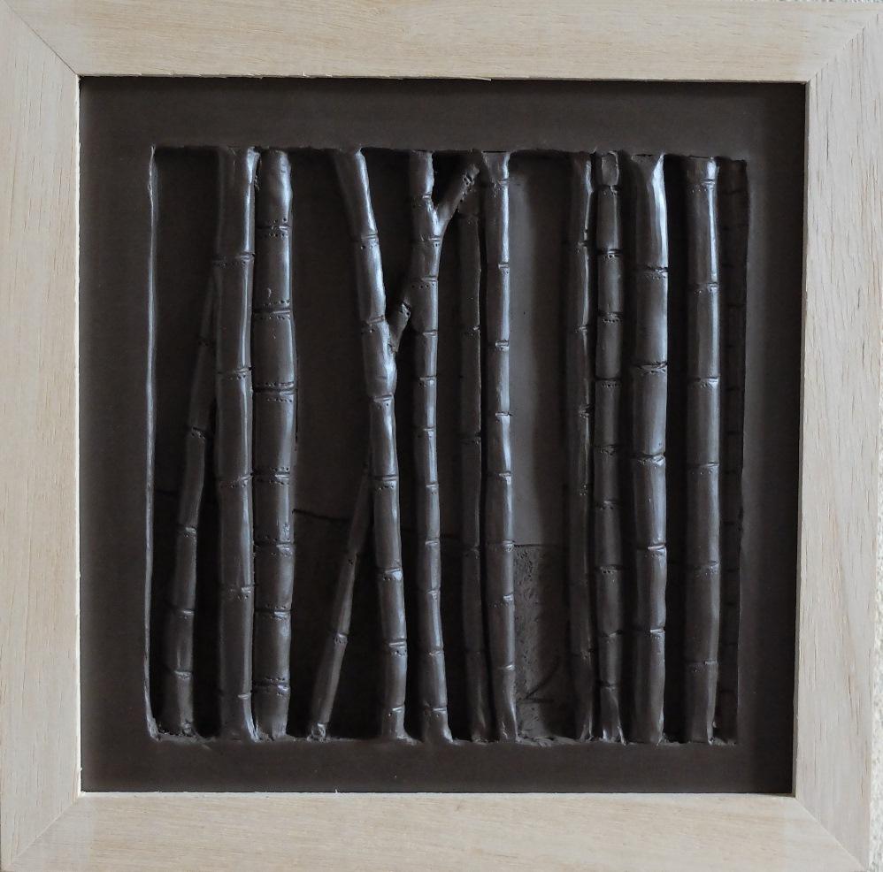 """bas relief """"bambous"""""""