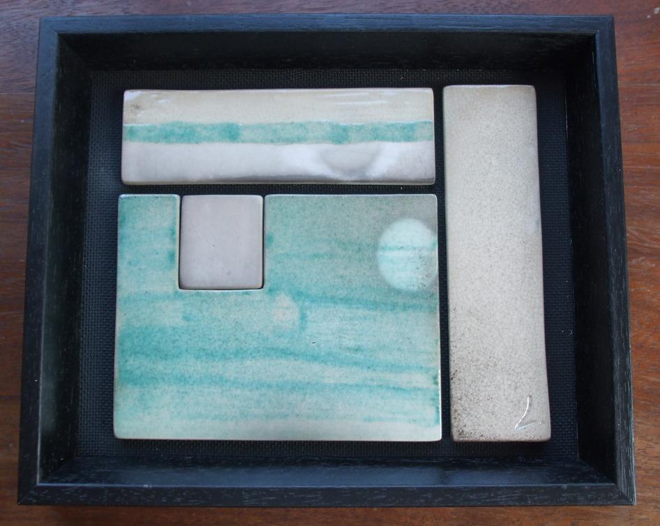 cadre turquoise